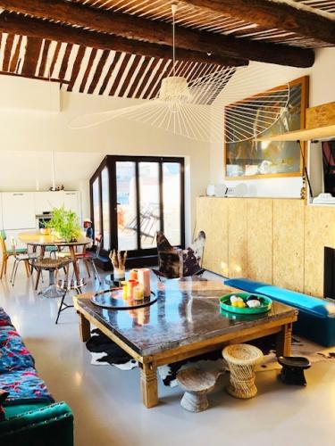 Réhabilitation totale d'un appartement Cours Mirabeau à Aix : image3b