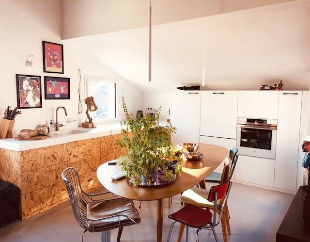 Réhabilitation totale d'un appartement Cours Mirabeau à Aix