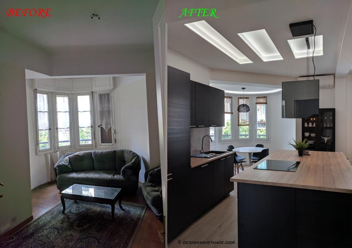 Appartement de 90m² : A
