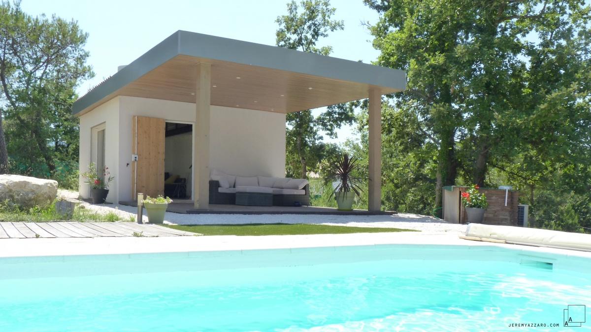 Création d'une dépendance estivale « pavillon des pins »