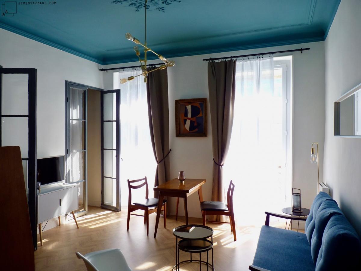 Création de deux appartements « angle deux vies »