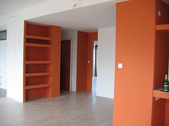 Restructuration en appartement contemporain