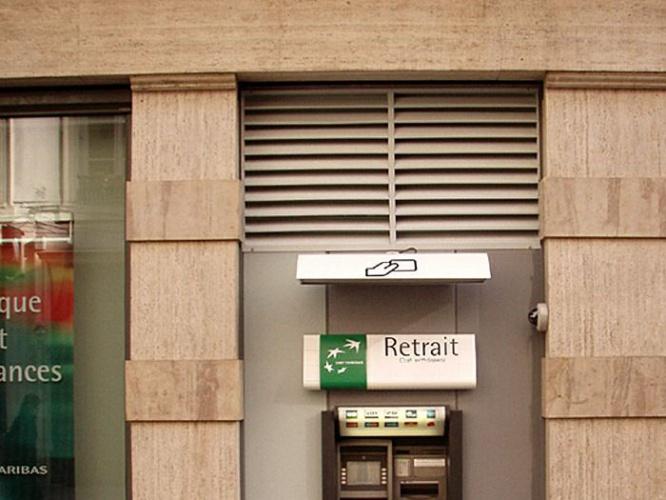 Agences bancaires BNP et CA -depuis 2005