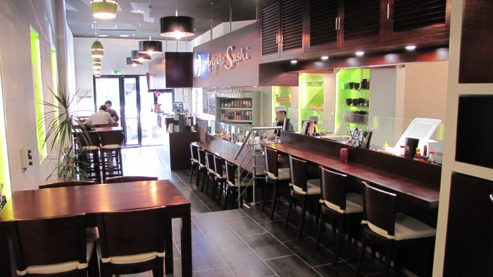 restaurant arigato sushi marseille marseille une r alisation de valeria cottone. Black Bedroom Furniture Sets. Home Design Ideas