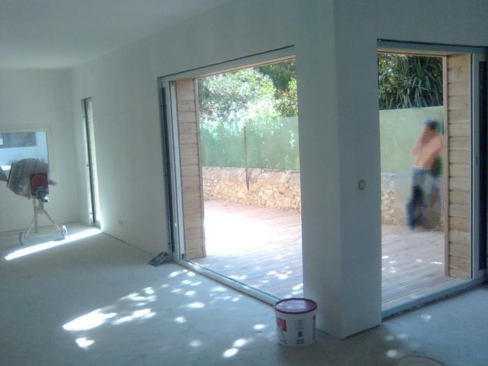 Extension d'une maison à mazargues : sejour pauli
