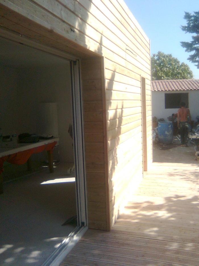 Extension d'une maison à mazargues : Photo137