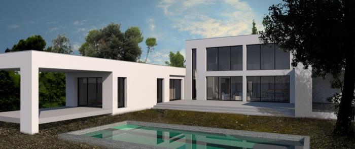 Maison contemporaine marseille marseille une r alisation de pascal camliti architecte dplg - Maison de ville taranto architecte ...