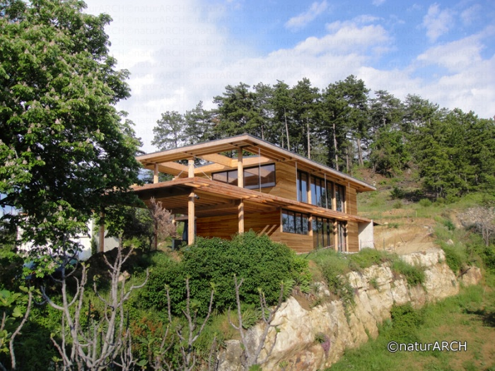 Maison et bureaux à énergie positive