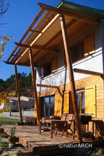Maison écologique ossature bois