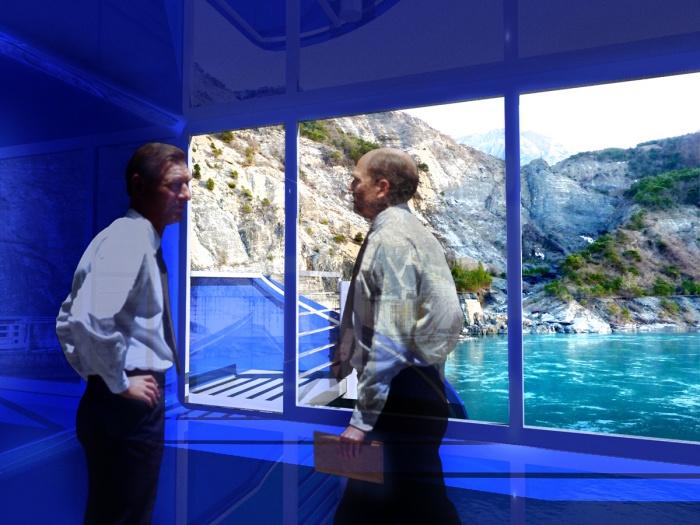 salle de réunion au barrage de Serre-Ponçon (04) - 2011 : 03