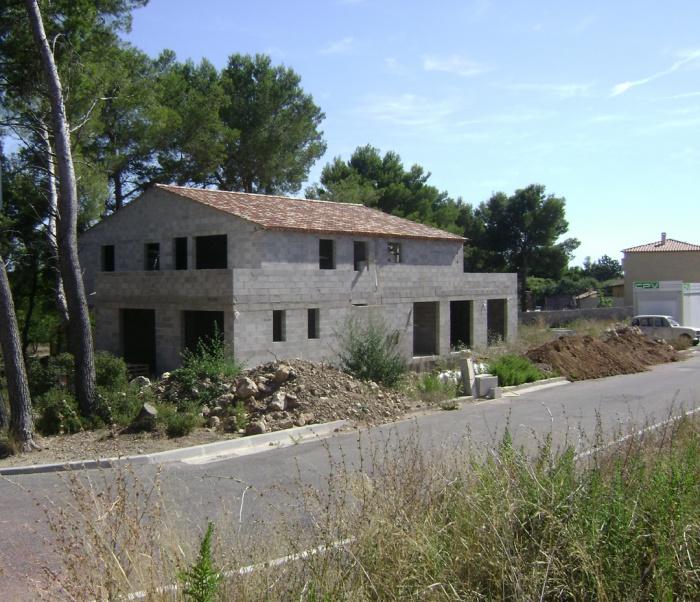 Construction d'une maison à Rognac
