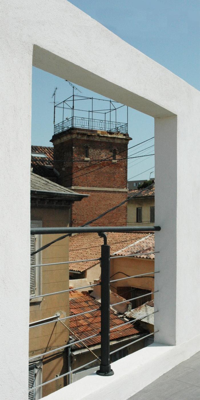 Maison AIR : Vue depuis la toiture