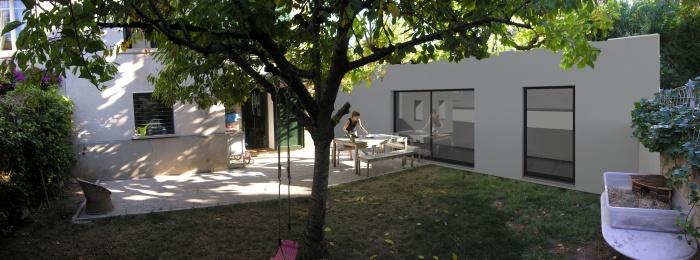 45 extensions d 39 architectes page 2 for Architecte marseille maison individuelle