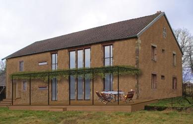 Architectes sur l vation d 39 une maison for Architecte marseille maison individuelle