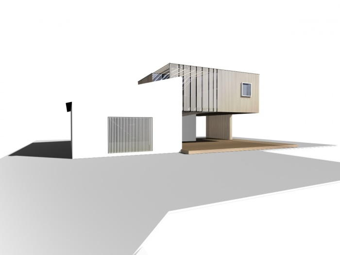 Extension d'une villa à Ensuès la Redonne (13) - 2013
