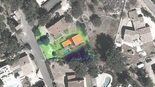 Création d'une Maison Contemporaine Provençale : villa.contemporaine.planmasse.jeremy.azzaro.architecte.jpg