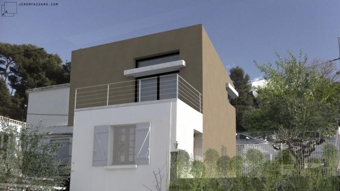 Surélévation d'une maison pour la création d'une suite parentale