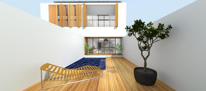 Maison de Village à Cogolin : may_architecture_architecte_rénovation_cogolin-Rialet-03
