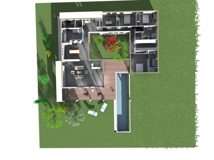 Maison ossature bois : le plan