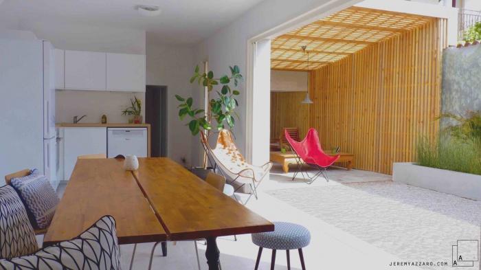Création d'un Loft « l'Appartement Jardin »