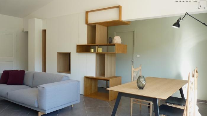 Aménagement Intérieur d\'une villa avec création de mobilier à ...