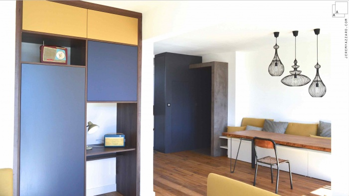 rénovation appartement années 70