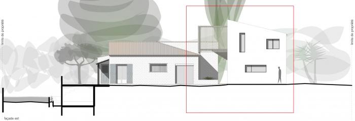 Extension Maison I : VELO façade ok