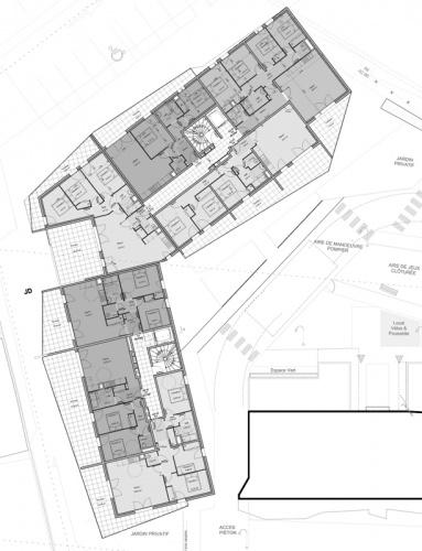 71 logements sociaux six fours les plages 83 2016 for Architecte six fours