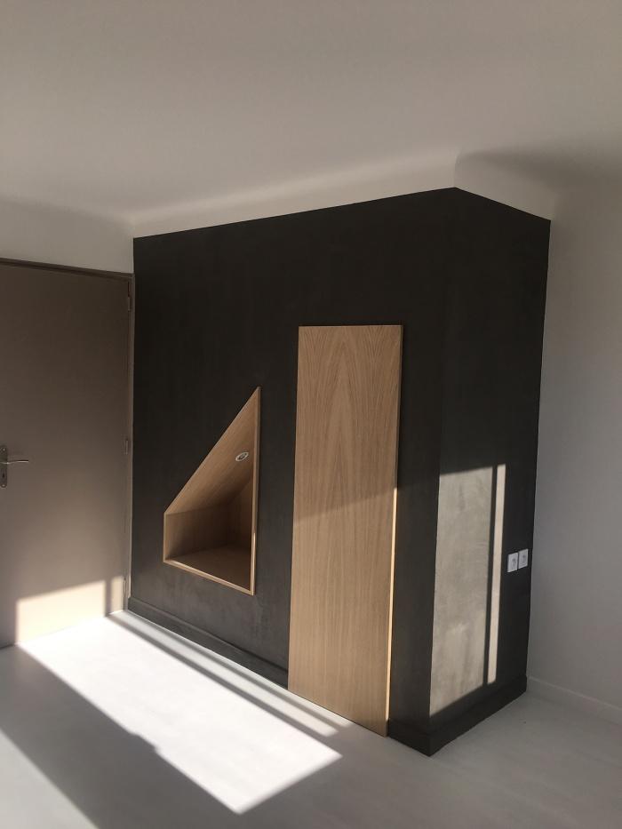 rénovation d'appartement : red5
