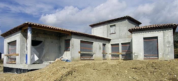 Réalisation de quatre villas individuelles