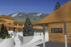 Création d'un centre de loisirs sportifs en montagne