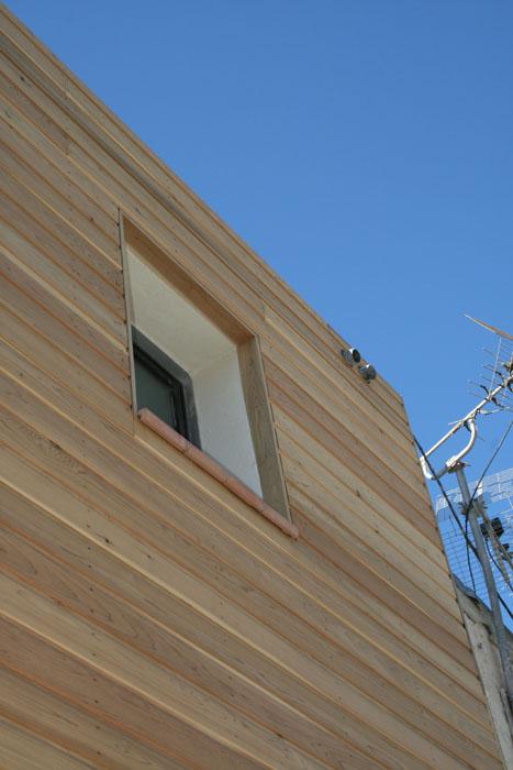 façade de maison bois